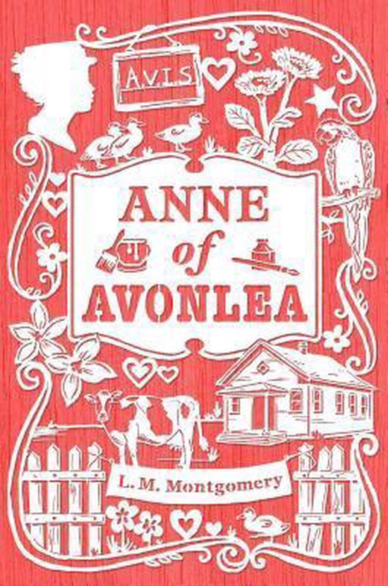 Boek cover Anne of Avonlea van Lucy Maud Montgomery (Hardcover)