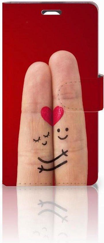 Telefoonhoesje LG Magna | G4C Book Case Hoesje Liefde