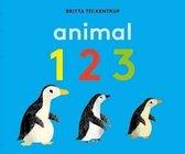 Boek cover Animal 123 van Britta Teckentrup