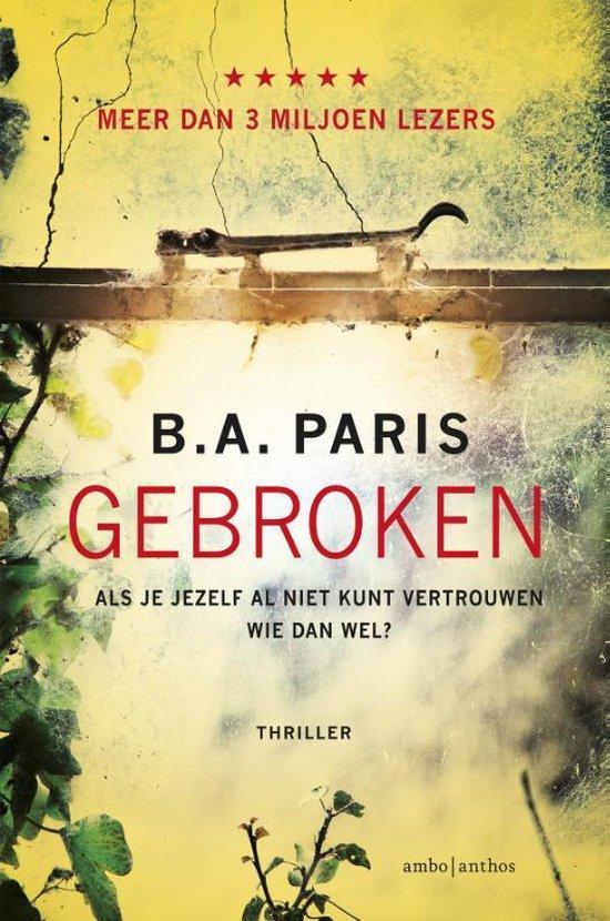 Boek cover Gebroken van Paris (Paperback)