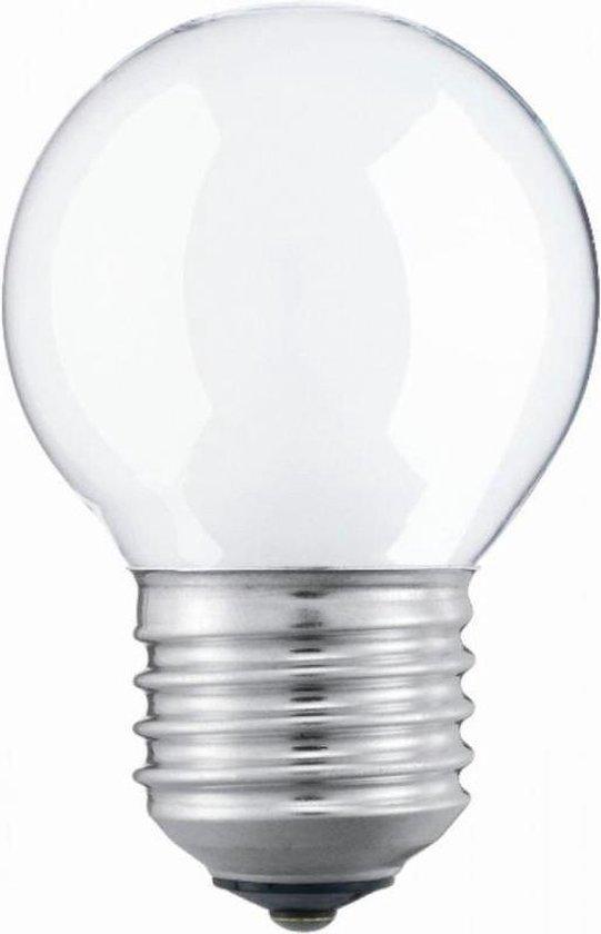 Kogellamp Gloeilamp - 40 Watt Mat E27 - (5 stuks)