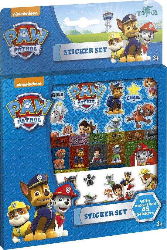 Paw Patrol Sticker Set