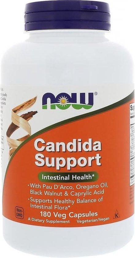 Candida Support (180 Veggie Caps) - Now Foods