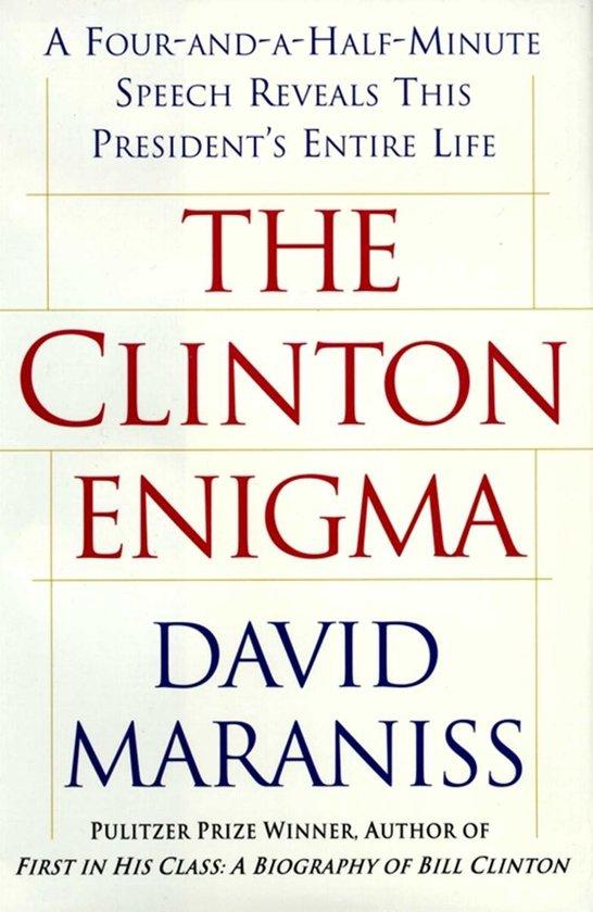 Boek cover The Clinton Enigma van David Maraniss (Onbekend)