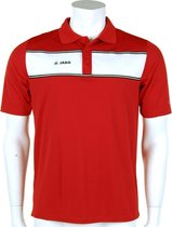 Jako Polo Player - Sportpolo -  Heren - Maat S - Red;White
