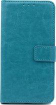 Nokia 1 Plus Hoesje - Portemonnee Book Case - Kaarthouder & Magneetlipje - Turquoise