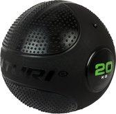Tunturi Slam Ball - Slam Ball Crossfit - 20 kg - Zwart