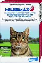 Milbemax Ontworming Kat - 2 Tot 8 kg - 2 tabletten