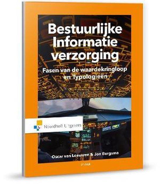 Bestuurlijke informatie verzorging, processen - J.B.T. Bergsma |