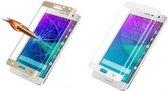 Tempered 3D hard glas voor Samsung Galaxy S6 Edge goud