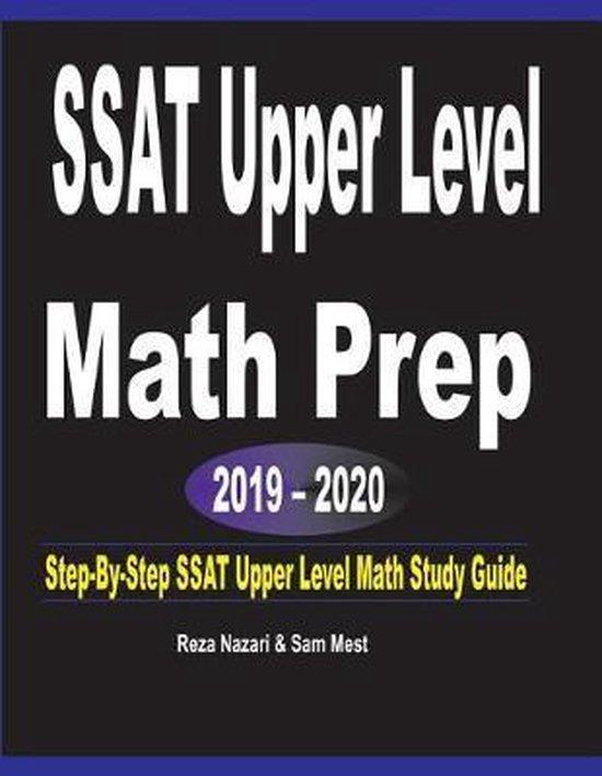 SSAT Upper Level Math Prep 2019 - 2020