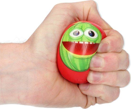 Thumbnail van een extra afbeelding van het spel Stressbal Hard Density – 6 cm – Sensomotorische Stimulatie – Anti Stress – 3 stuks – Met Afbeelding Fruit