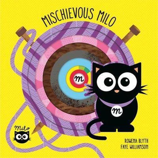 Boek cover Mischievous Milo van Rowena Blyth (Hardcover)
