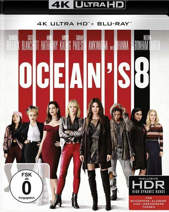 Ocean's Eight (Ultra HD Blu-ray & Blu-ray)