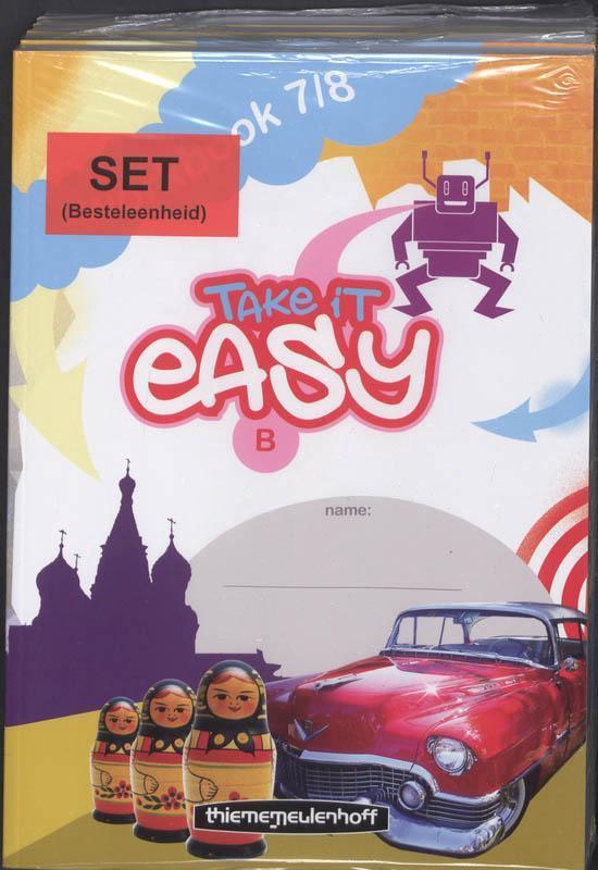 Take it Easy Workbook 7/8 B (set a 5ex) - Rvtekst  