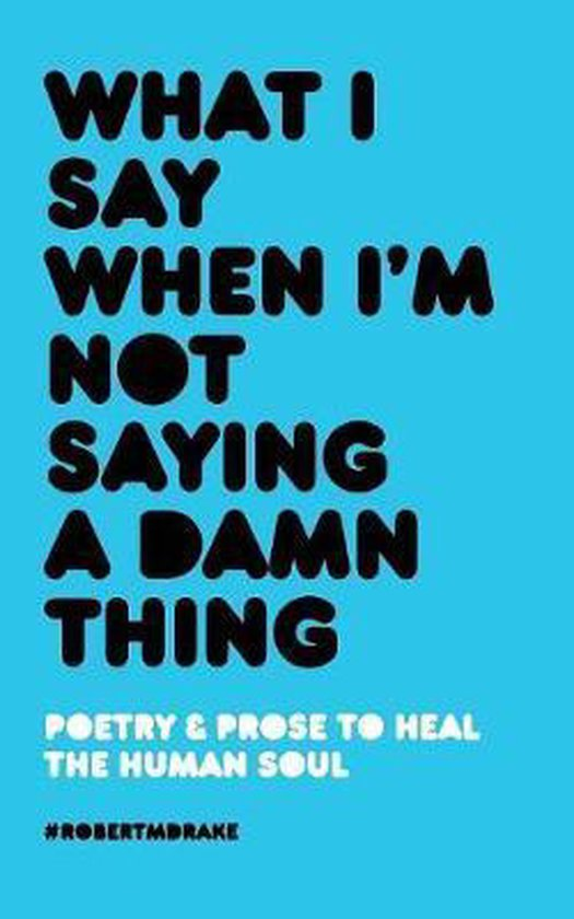 Boek cover What I Say When Im Not Saying A Damn Thing van Robert M Drake (Paperback)