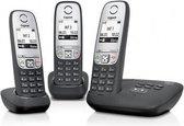 Gigaset A415A - Trio DECT telefoon - Antwoordapparaat - Zwart