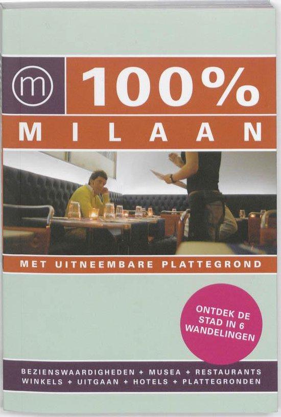 Cover van het boek '100% Milaan' van Annemarie Hofstra