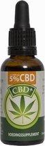 CBD Plus olie 5% (Jacob Hooy) - 30 ml