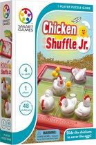 SmartGames Chicken Shuffle Jr (48 opdrachten) - Schuifpuzzel - concentratie -  Cognitieve Vaardigheden