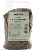 Body & Fit Superfoods Pure Lijnzaad gebroken - 500 gram