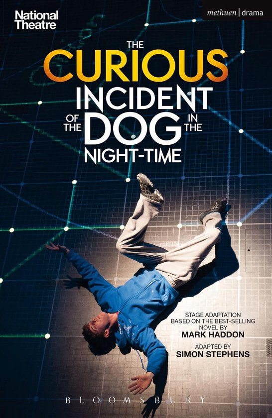 Boek cover The Curious Incident of the Dog in the Night-Time van Simon Stephens (Onbekend)