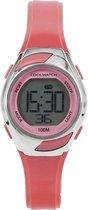 Coolwatch CW.348 Sporty Meisjes Horloge Digitaal Roze 10 Atm
