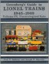 Boek cover Greenbergs Guide to Lionel Trains, 1945-1969 van Paul V Ambrose