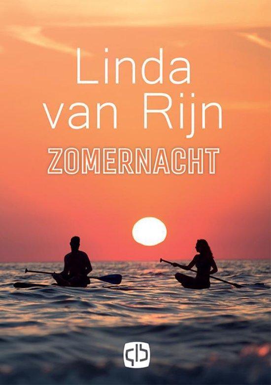Boek cover Zomernacht van Linda van Rijn (Hardcover)