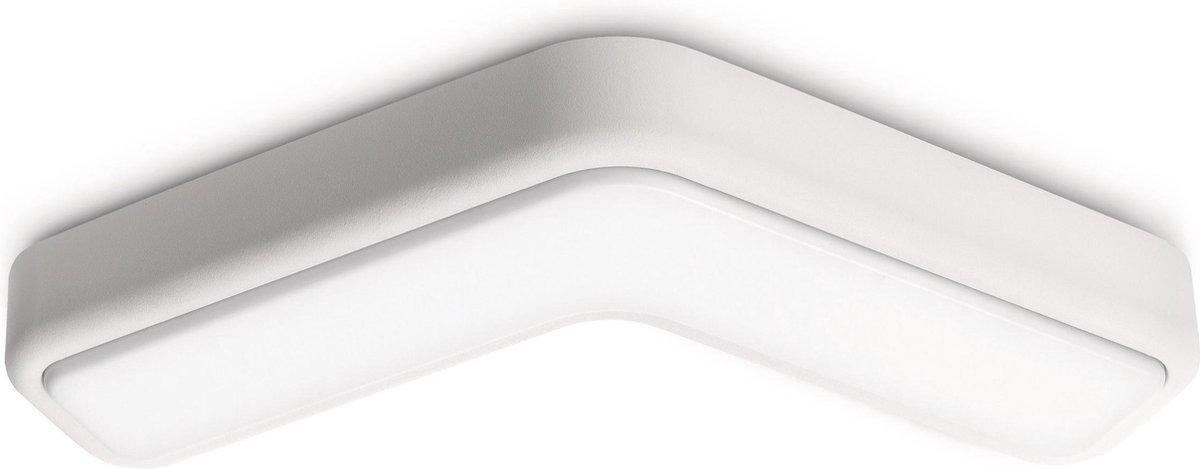 Philips Ecomoods Playful - Wandlamp/Plafondlamp - Wit