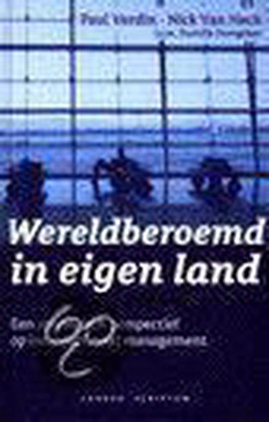 Cover van het boek 'Wereldberoemd in eigen land'