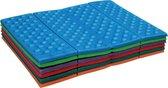 2 Stuks Handige Opvouwbare Picknickmat Foam Blauw