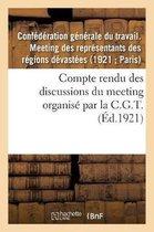 Compte rendu des discussions du meeting des representants des regions devastees