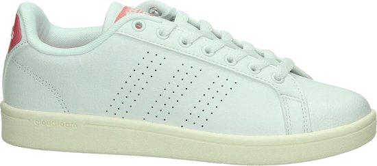 Adidas - Cloudfoam Advantage - Sneaker laag sportief - Dames - Maat 42,5 -  Wit - Ftwr White
