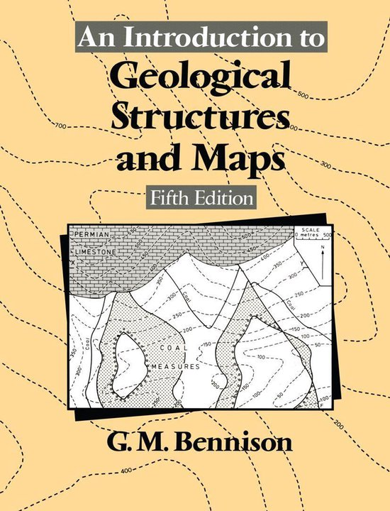 Boek cover An Introduction to Geological Structures and Maps van George M Bennison (Onbekend)
