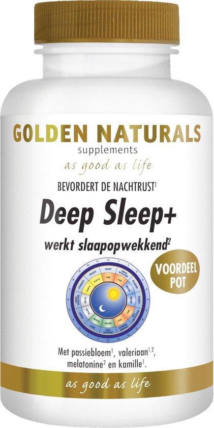 Golden Naturals DeepSleep+ (180 capsules)