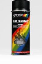 Motip 4031 Hittebestendige Lak - Zwart - 400 ml