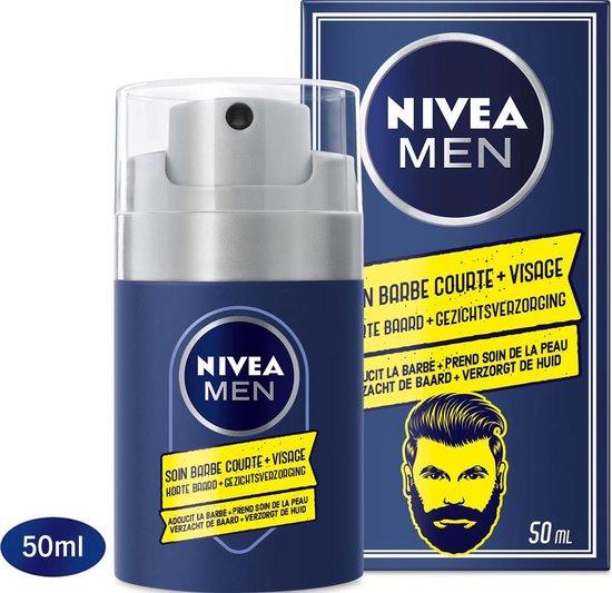 NIVEA MEN Short Beard & Skin Gel Korte Baard - 50 ml