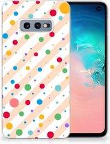 Samsung Galaxy S10e TPU Hoesje Design Dots