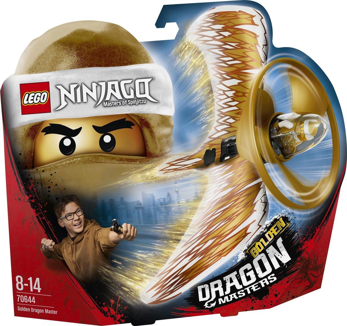 LEGO NINJAGO Gouden Drakenmeester - 70644 - LEGO