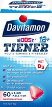 Davitamon Multi Boost 12+ Kauwvitamines - multivitamine - aardbei - 60 tabletten