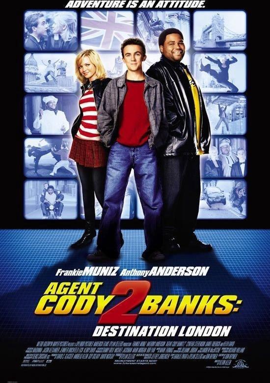 Cover van de film 'Agent Cody Banks 2'