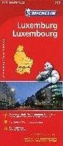 Michelin Nationalkarte Luxemburg 1 : 150 000