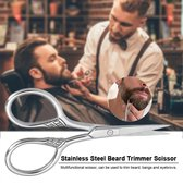 Baardschaar|Barbier|RVS|Trimmer|Baardkam|Cabantis|kapper