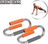 Iron Gym Push Up Bars Deluxe Opdruksteunen