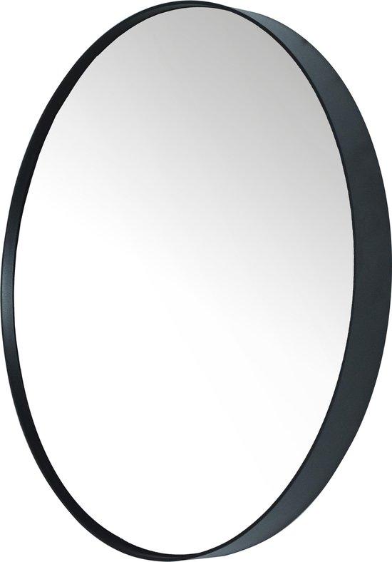 Fonkelnieuw bol.com | Spinder Design Donna 5 - Spiegel - Rond - ø 90x5 cm - Zwart JN-26