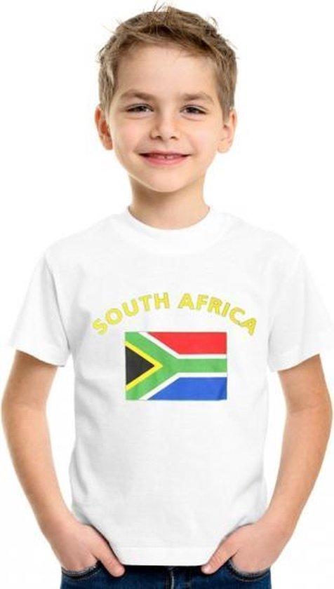 Kinder t-shirt vlag South Africa Xl (158-164)
