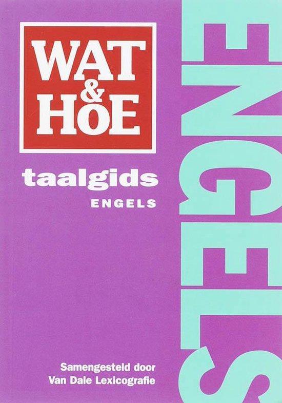 Cover van het boek 'Wat & Hoe taalgids Engels'