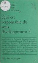 Qui est responsable du sous-développement ?