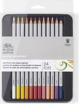 Winsor & Newton Studio Collection Soft thick-core Kleurpotloden 24 stuks